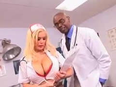 Nurse with big breasts