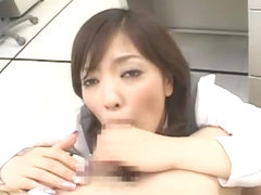 Best Japanese slut Erika Tokuzawa in Horny Office, POV JAV movie