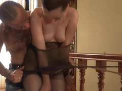 PantyhoseJobs Video: Emm and Herbert
