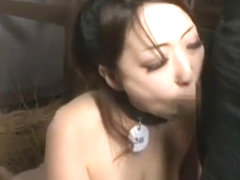 Amazing Japanese slut in Fabulous BDSM, Outdoor JAV clip