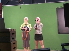Blondes Behind the Scenes! BurningAngel Video