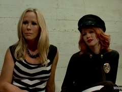 MILF prostitute punished and Dpd by smoking hot redhead rookie cop