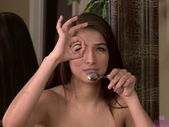 Fabulous pornstar Megan Salinas in Hottest College porn movie