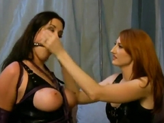 Anastasia Pierce and Kendra James are one hot mistress and slave pair