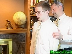 Buff uniform mormons anal