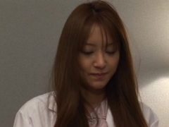 Sex craving Asian doctor Manami Suzuki teasing her patient and hardcore fucking