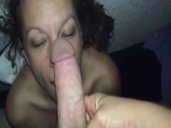 ATM Wife Gets Throat Fucked