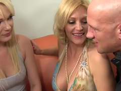 Amazing pornstars Charlee Chase and Zoey Paige in best cumshots, big tits sex clip