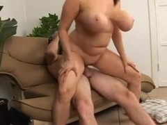 Fucking Mom Boobs and Her Pussy BVR