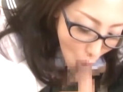 Fabulous Japanese whore Mami Asakura in Exotic Couple, Blowjob JAV video