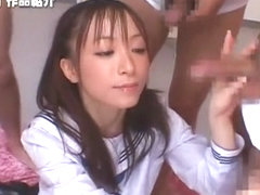 Hottest Japanese chick Akiho Yoshizawa in Fabulous Blowjob, Facial JAV clip