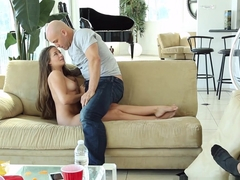 Exotic pornstars Cassidy Klein, Derrick Pierce in Crazy Small Tits, Blowjob xxx movie