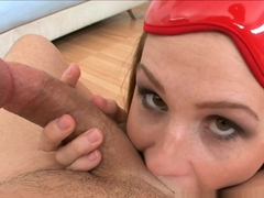 Crazy pornstar Allison Moore in Incredible Facial, Blowjob sex scene