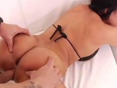Luna Star rides her wet pussy on this hard cock