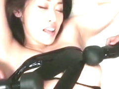 Hottest Japanese slut Ann Yabuki in Exotic Toys, Threesome JAV scene