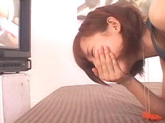 Horny Japanese slut Anna Kiuchi in Crazy Couple, Close-up JAV scene