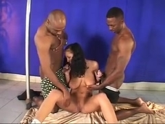 Interracial Threesome