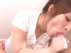 Horny Japanese whore Kokomi Sakura in Crazy Blowjob/Fera, Fingering JAV video