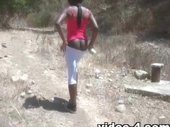 ATKGirlfriends video: Ana Foxxx outdoor fun at the beach