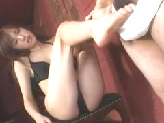 Hottest Japanese slut Arisa Kanno in Fabulous POV, Foot Job/Ashifechi JAV movie