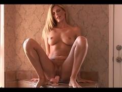 Beautiful MILF having fun with sex toys