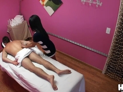 Asian girl Alexa Bay is doing an awesome massage