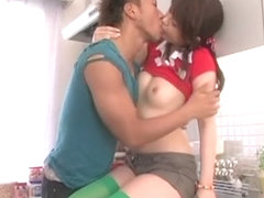 Amazing Japanese chick Manami Amamiya in Crazy Couple, Small Tits JAV movie