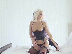 Amazing pornstar Blanche Bradburry in Crazy Small Tits, Stockings xxx video