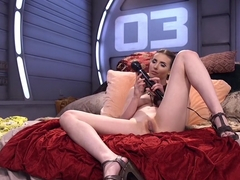 Amazing fetish xxx scene with fabulous pornstar Casey Calvert from Fuckingmachines