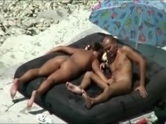 Sexually Excited pair have a fun fucking on the beach.