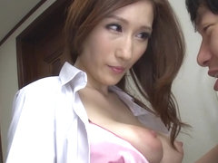 Hottest Japanese whore JULIA in Fabulous cougar, big tits JAV movie