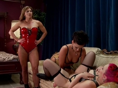 Fabulous gaping, fetish porn video with crazy pornstars Ariel X, Proxy Paige and Roxy Raye from Ev.