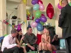 New Years Eve sex party episode 1