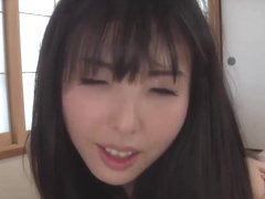 Beautiful Japanese chick enjoys oral sex