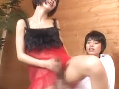 Hottest Japanese model Momo Junna, Akane Hotaru in Crazy Blowjob, Guy Fucks JAV clip