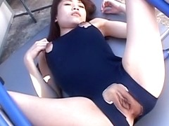 Best Japanese girl Ibuki in Crazy JAV uncensored Co-ed video