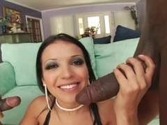 Euro Gal Maya Gates double penetration Blitzed By Dark Fellas