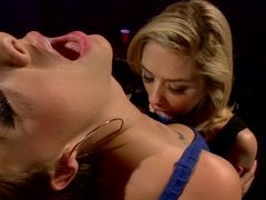 Exotic blonde, fetish sex video with amazing pornstars Chanel Preston, Ashley Fires and Lia Lor fr.