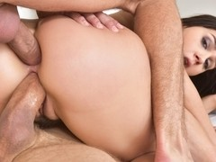 Valentina Nappi & Mick Blue & Erik Everhard in Valentina Nappi In Double Penetrate Me Video