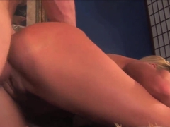 Sexy blonde milf Darryl Hanah gets her ass drilled