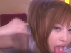 Horny Japanese model Cocomi Naruse in Exotic Blowjob/Fera JAV video