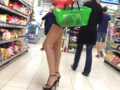 Beautiful Girl in High Heels