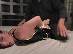 Crazy fetish adult movie with incredible pornstar Ariel X from Waterbondage