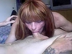 Cute CD Sucking Dick and Gets Ass Pounding