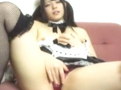 Fabulous Japanese slut Ai Uehara in Crazy Masturbation/Onanii, Stockings/Pansuto JAV movie