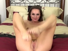 Seductive Tori Black displays her amazing body and pleases her pussy