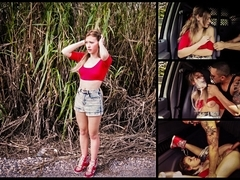 Callie Calypso Endures Domination, Outdoor Rough Sex & Rope Bondage for a Ride - HelplessTeens