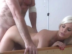 Hot nurse sex and cumshot