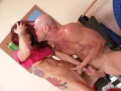 Big Tits In Sports: Fat Camp: Dropping Pounds to Pound Monique. Monique Alexander, Johnny Sins