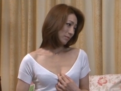 Marina Matsumoto Gets Stripped To Get Her Mature Pussy Fucked
